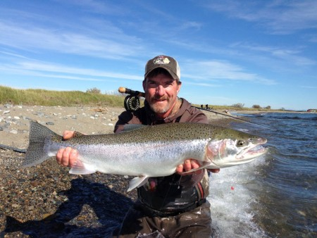 Alaska Fly Fishing Guide Brad Waitman